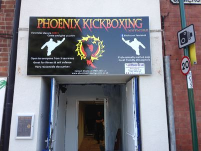 Phoenix Kickboxing entrance